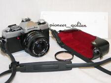 MINOLTA XG7 35mm SLR CAMERA w/VIVITAR 28mm 1:2.8 LENS