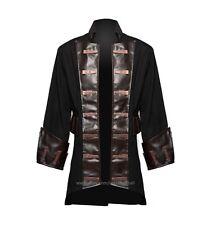 MEN'S GOTH-STEAMPUNK ANTIQUE PENDANT PIRATE COSTUME COAT JACKET