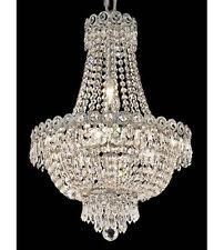 Palace Empire 8 Light Pendant Crystal Chandelier Light Chrome Precio Mayorista