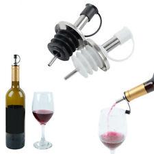 1/3PCS Bar Tool Bottle Mouth Olive Dispenser Wine Pourer Stainless Steel