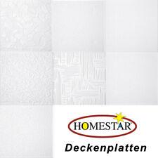 Styroporplatten Deckenplatten 7 verschiedene Dekore - ein Preis  (2,46 €/m²)