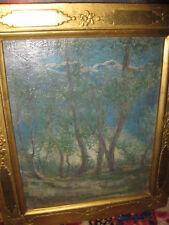 LISCHKA Reinhold, *1881 Blick durch Wald auf die Berge