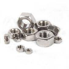 Hex Nuts 316 A4 Stainless Steel DIN934 M2 M3 M4 M5 M6 M8 M10 M12 M16 M18 M20 M24
