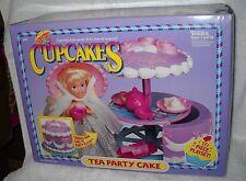 #4083 NIB Vintage Tonka Cup Cakes Tea Party Cake Playset