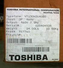 TOSHIBA VT130H3U4080 7.5 HP 3PH 460V 11 AMP DRIVE AC INVERTER