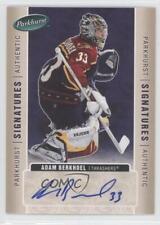 2005-06 Parkhurst Signatures AB Adam Berkhoel Atlanta Thrashers Auto Hockey Card