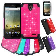 Phone Case For ZTE Avid Plus / ZTE Prestige LTE Dual-Layered Crystal Cover Film