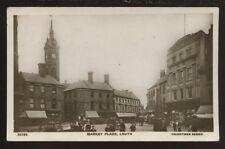 Lincs LOUTH Market Place 1909 RP PPC