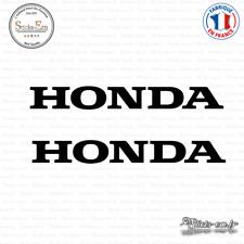 2 Stickers Honda Logo Decal Aufkleber Pegatinas HON06 Couleurs au choix