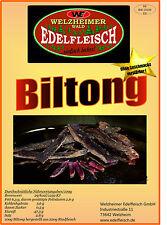 1300 Gramm Biltong Trockenfleisch Geschnitten 13 Sorten Collection TOPSELLER