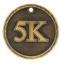 5K Running Medal Award Trophy Team Sports W/Free Lanyard Runner Race 3D221