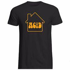 ACID HOUSE T-SHIRT (Gildan Sunrise Rave E Ecstacy Party 303 808 Techno Jungle