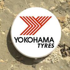 YOKOHAMA TYRES TIRES LED ILLUMINATED LIGHT BOX SIGN GAS STATION OIL AUTOMOBILIA