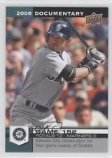 2008 Upper Deck Documentary #4603 Ichiro Seattle Mariners Suzuki Baseball Card