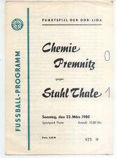 DDR-Liga 79/80 ZEPA acero Thale-BSG Chemie premnitz (23.03.1980)