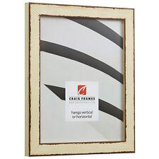 "Craig Frames Ferro, 1.0"" Antique Ivory Picture Frame Poster Frame"