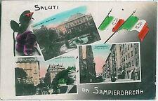 CARTOLINA d'Epoca - GENOVA:  SANPIERDARENA 1916 - BELLISSIMA!