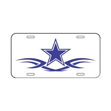 🔥 Dallas Cowboys Plastic License Plate Truck Car Van White 🔥