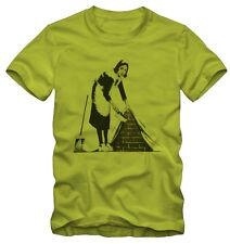 T-shirt /Maglietta Banksy Graffiti Colf Kraz Shop