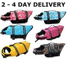 Dog Pet Saver Life Jacket Vest Reflective Strip sz XXS, XS, S, M, L, XL, XXL