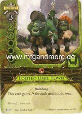Warhammer Invasion - 2x Looted Umie Town  #025