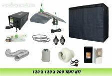 Best Complete Hydroponic Grow Room Tent Fan Filter Light Kit 600watt 120x120x200