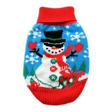 Doggie Design Combed Cotton Ugly Snowman Holiday Dog Sweater Sizes XXS-XXL