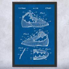 Framed Rock Climbing Shoe Art Print Gift Rock Climbing Art Climbing Gift