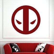 Deadpool super héros logo mur art autocollant (AS10219)