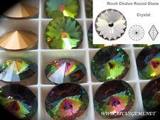 Authentic SWAROVSKI 1122 Rivoli Foiled Round Stones 16mm Pick Colors