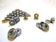 Kugellager 608 8x22x7 mm ZZ, 2RS, EMQ, HTB ABEC9, ABEC11(Gold), POM Nach Auswahl