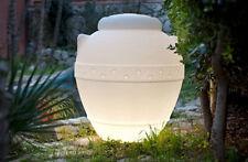 Orcio fioriera luminoso luce da uso esterno, interno vaso vasi resina h 125 cm