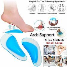 Orthopedic Gel Arch Support Flat Feet Foot Fallen Plantar Fasciitis Insole Heel