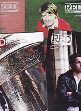 Aberdeen Home Programmes Season 2009-2010