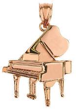 Rose Gold Piano 3D Pendant Musical Chorus Band Instruments