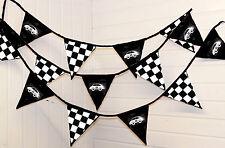 Racing Bunting ** 5 and 10 Metres **  Boys, festivals, nursery, birthday , Cars