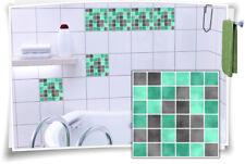 Fliesenaufkleber Fliesenbild Fliesen Aufkleber Fliesenimitat Mosaik Mint