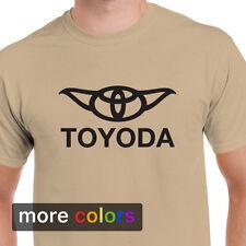 Star Wars Toyoda, Toyota Yoda Mens T-shirt, Camry 4Runner Darth Vader R2D2 Tee
