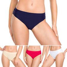 Womens Classic Comfortable Briefs Ladies Underwear Panties Knickers M-XL FG9114