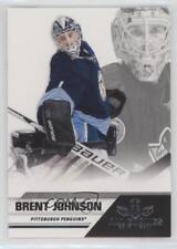 2011-12 Panini All Goalies Box Set Base Up Close #70 Brent Johnson Hockey Card