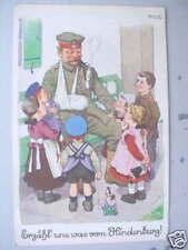 5304 AK Kinder Erzähl uns was von Hindenburg! 1915