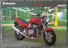SUZUKI N600 Bandit moto Brochure novembre 1994