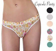 Cupcake Panty Women's 3 Pack Bikini Coverage Panties