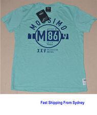 Mossimo Mens Tee  T-Shirt  Green Marle  RRP $49.95
