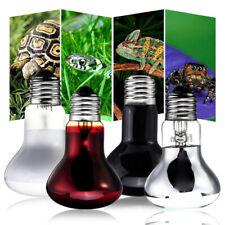 25/50/75/100W Uva Basking Heat Lamp Amphibian Turtle Snake Reptile Light Bulb Us