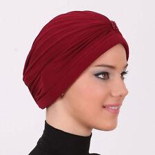 US Seller! NEW Fancy Bonnet Cancer Chemo Hijab Turban Cap Beanie many Color Bead