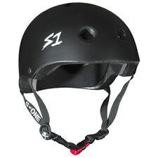 Scooter/Roller Derby/BMX/Skate Casque. S1 Casque Co Mini condamnés à perpétuité Répare Casque Noir Mat