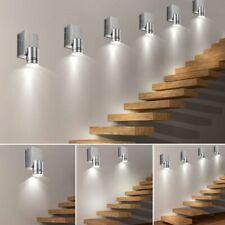 1x- 2x- 4X- 6x- LED wandspots Chambre à coucher Lumières Bureau Aluminium