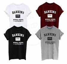 Hawkins Middle School AV Club Stranger Things Horror Fashion Gift Unisex T-shirt