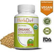 Organic Fenugreek Seed Powder Vegetarian Capsules Methi For Blood Sugar Control